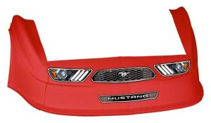 MD3 Gen 2 Nose-Fender-Decal Kit - (Red - Mustang)