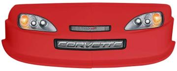 MD3 Gen 2 Nose/Decal Combo - (Red - Corvette)