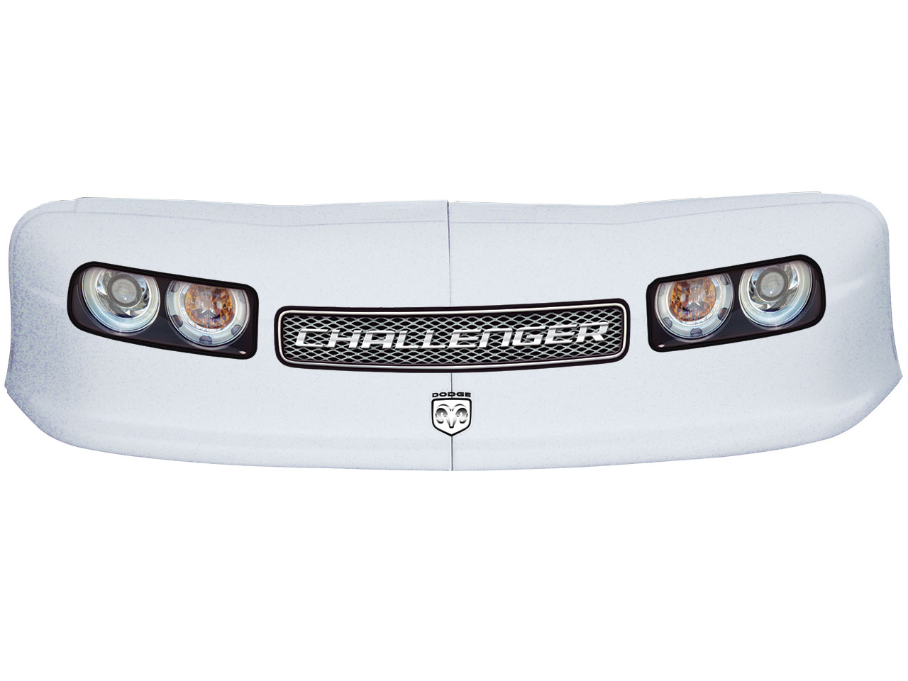 Classic Nose - Graphics Combo (White - Challenger)
