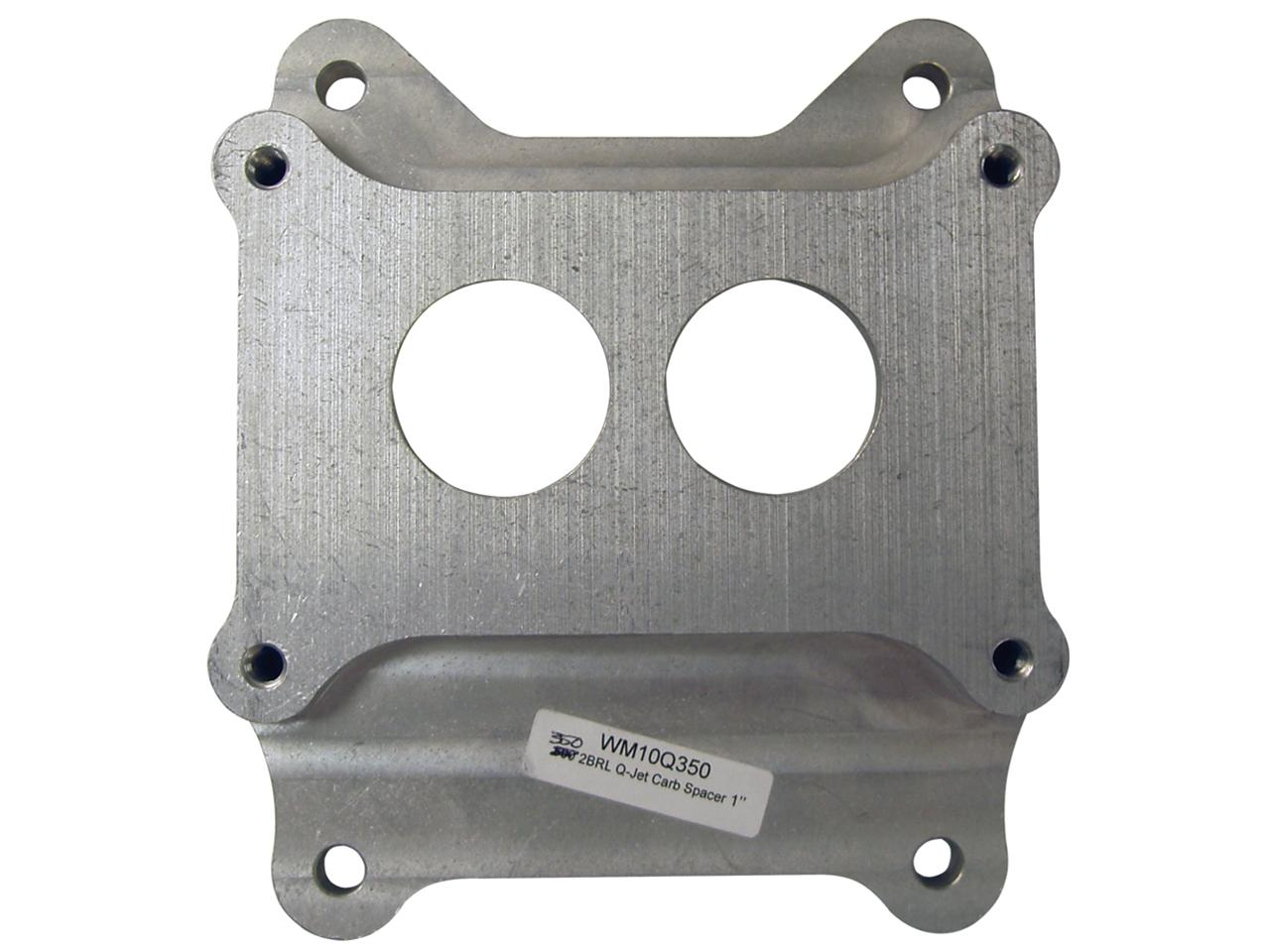 Picture of Wehrs Carburetor Adapter - 350-2 Barrel to Q-Jet Intake