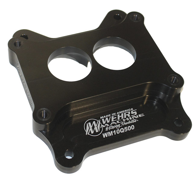 Picture of Wehrs Carburetor Adapter - 500-2 Barrel to Q-Jet Intake