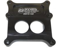 Picture of Wehrs Holley Carburetor Adapter 2 Barrel to 4 Barrel
