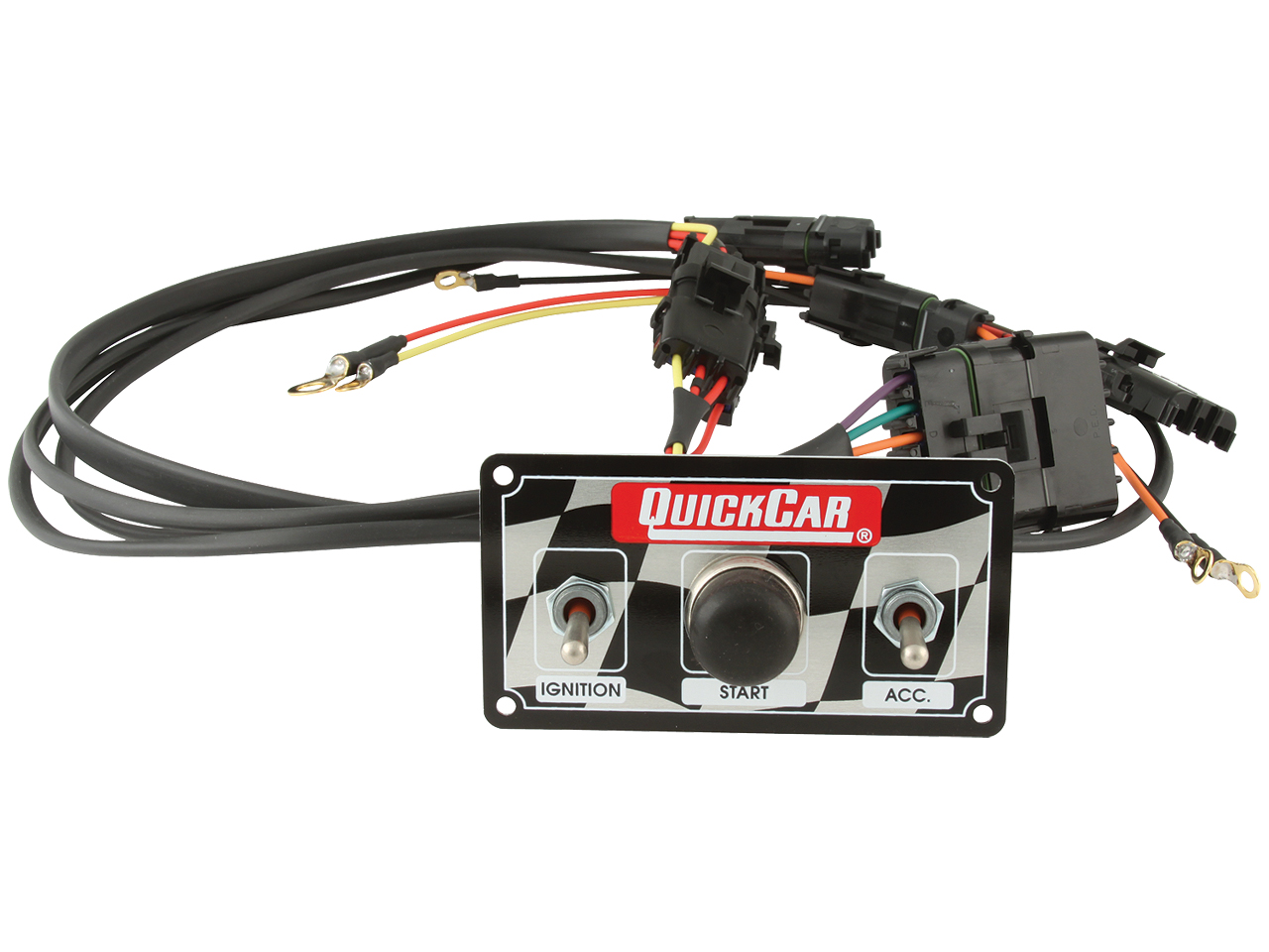 Quickcar Wiring Kit - MSD Harness w/ Switch Panel (QRP50020)