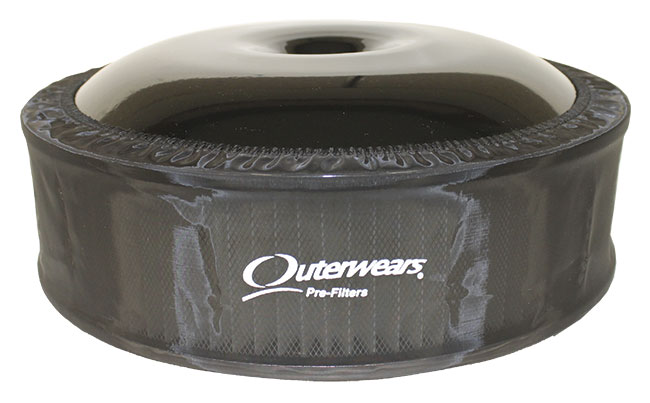 """Outerwears R2C 4"""" Offset Pre-Filter - (Black)"""