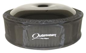 "Outerwears R2C 4"" Offset Pre Filter - (Black)"