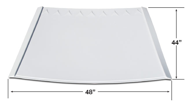 MD3 Lightweight Dirt Roof - (White)