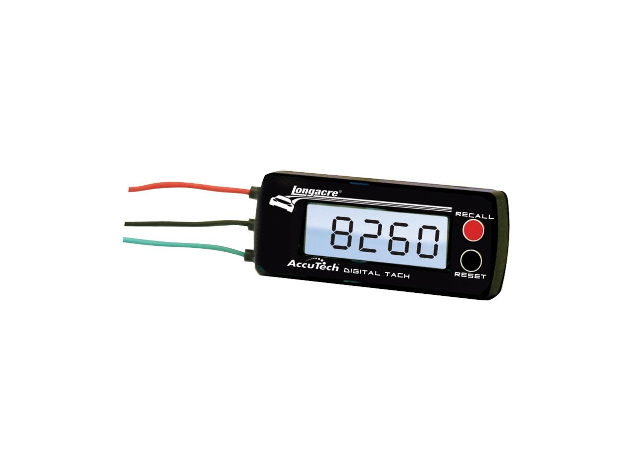 Picture of Longacre Digital Tach 0-10,000 RPM