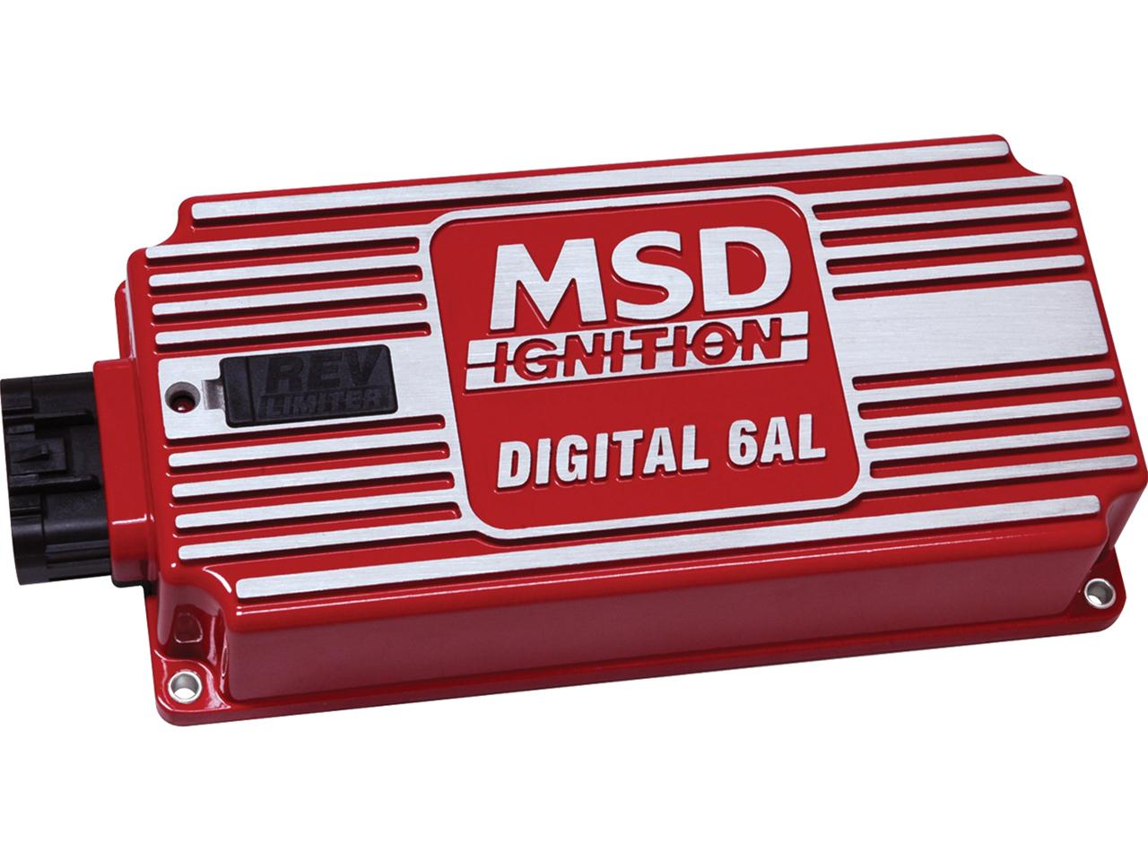 Performance Bodies  Msd 6al Digital Ignition Box  Rev