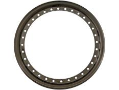 "AERO 15"" Black Chrome Outer Beadlock Ring"