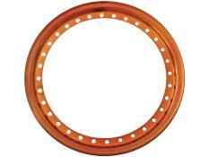 "AERO 15"" Flourescent Orange Chrome Outer Beadlock Ring"