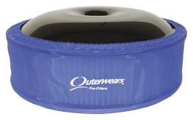 """Outerwears R2C 4"""" Offset Pre Filter - (Blue)"""