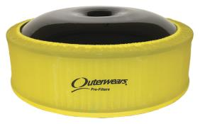"""Outerwears R2C 4"""" Offset Pre Filter - (Yellow)"""