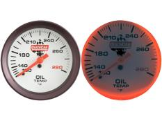 Quickcar Replacement Extreme OT Gauge - (140° - 280°)