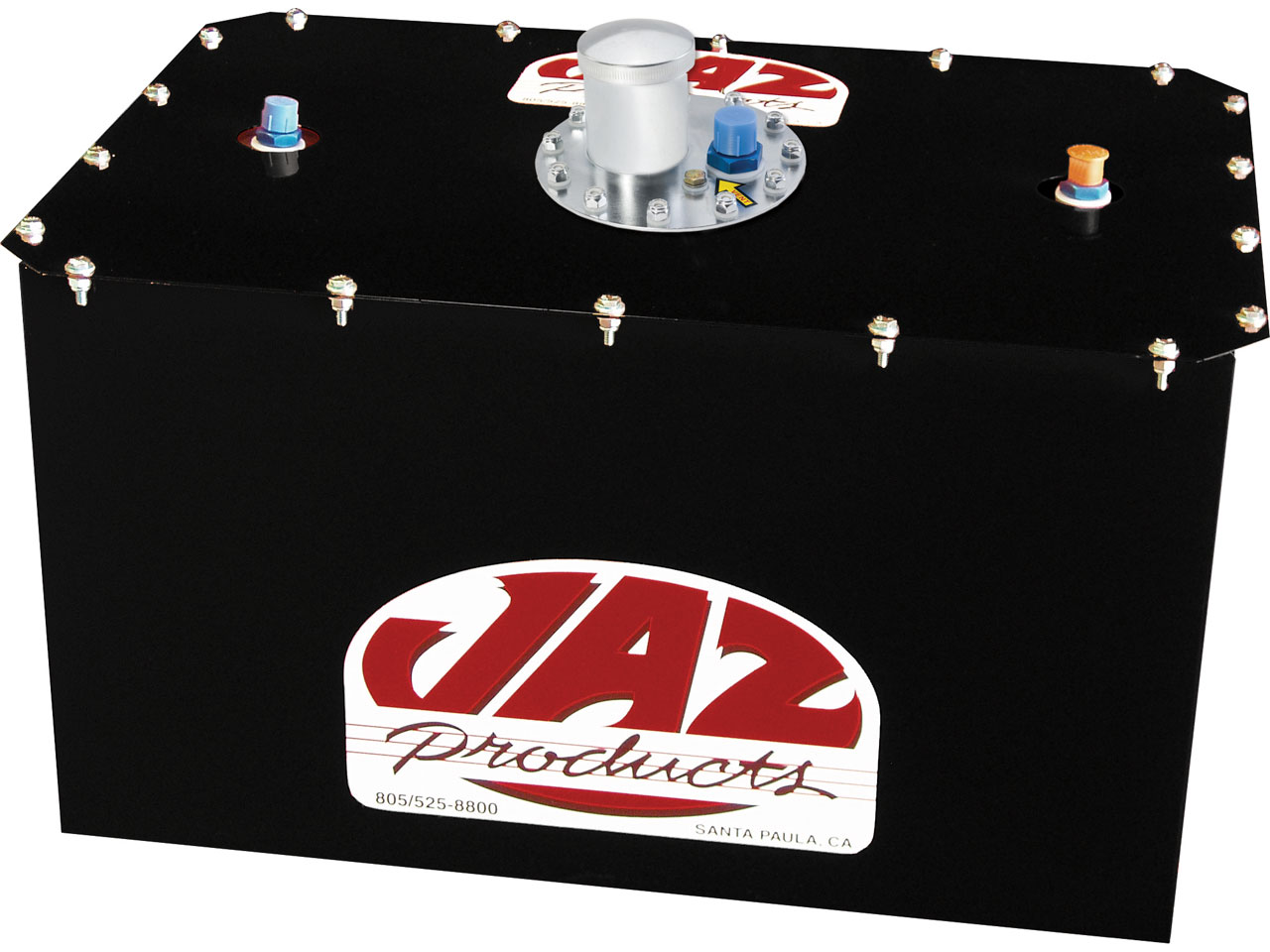 Jaz 16 Gallon Cell w/ Steel Can - #8 On Top - Black
