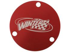 Winters Rear Hub Dust Cap ONLY - (Red)