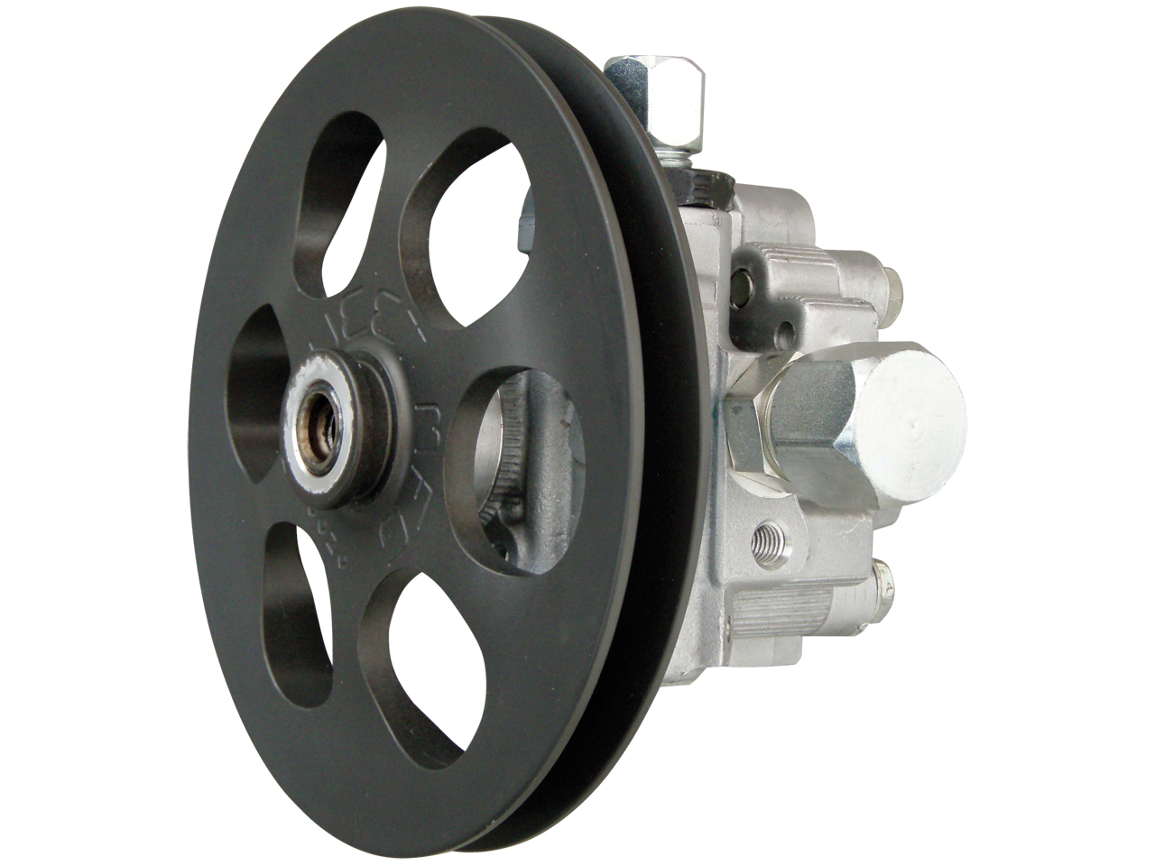 "Picture of Sweet 1700 PSI Aluminum PS Pump ONLY w/ 6"" V-Belt Pulley"