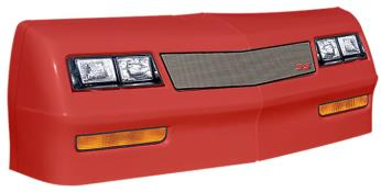 1981-88 Monte Carlo Nose/Decal Combo - (Red - Mesh)