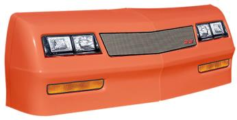 1981-88 Monte Carlo Nose/Decal Combo - (Orange - Mesh)