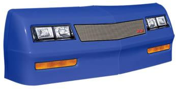 1981-88 Monte Carlo Nose/Decal Combo - (Chevron Blue - Mesh)