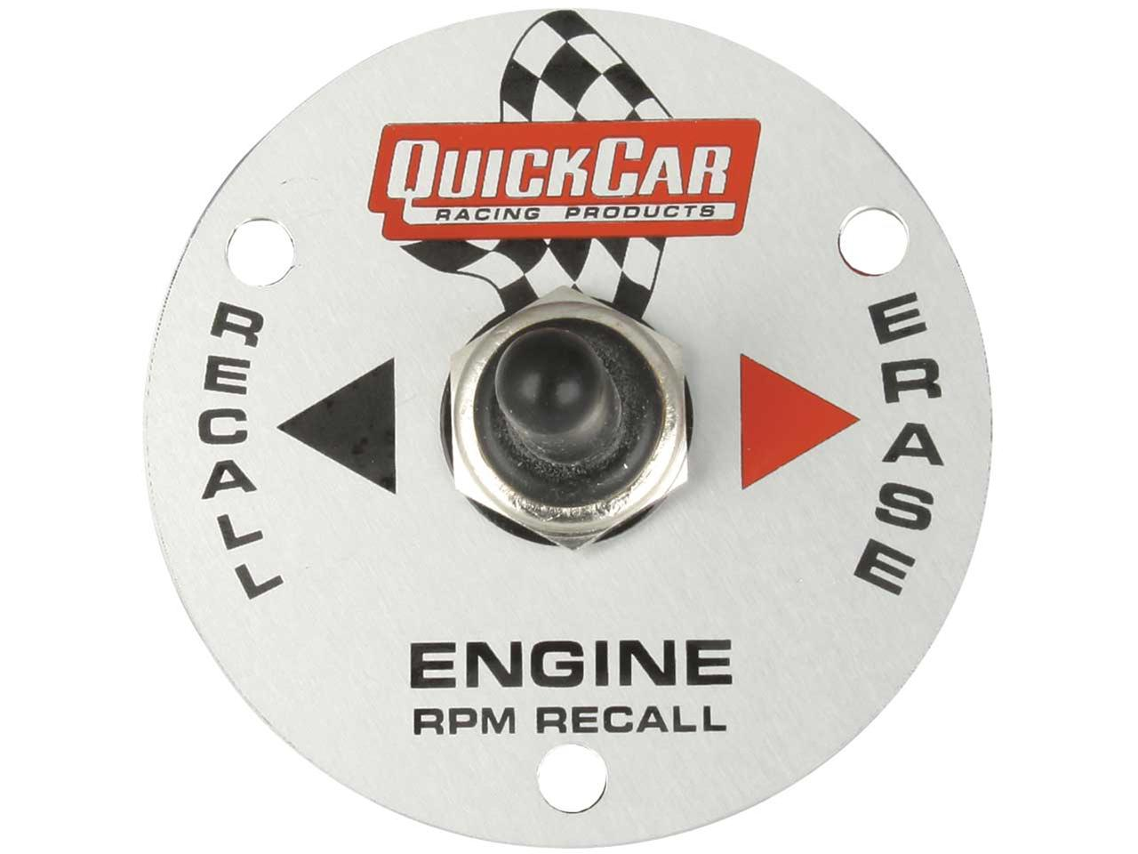 "Picture of Quickcar Tach 3 3/8"" Replacement Remote Recall Switch"