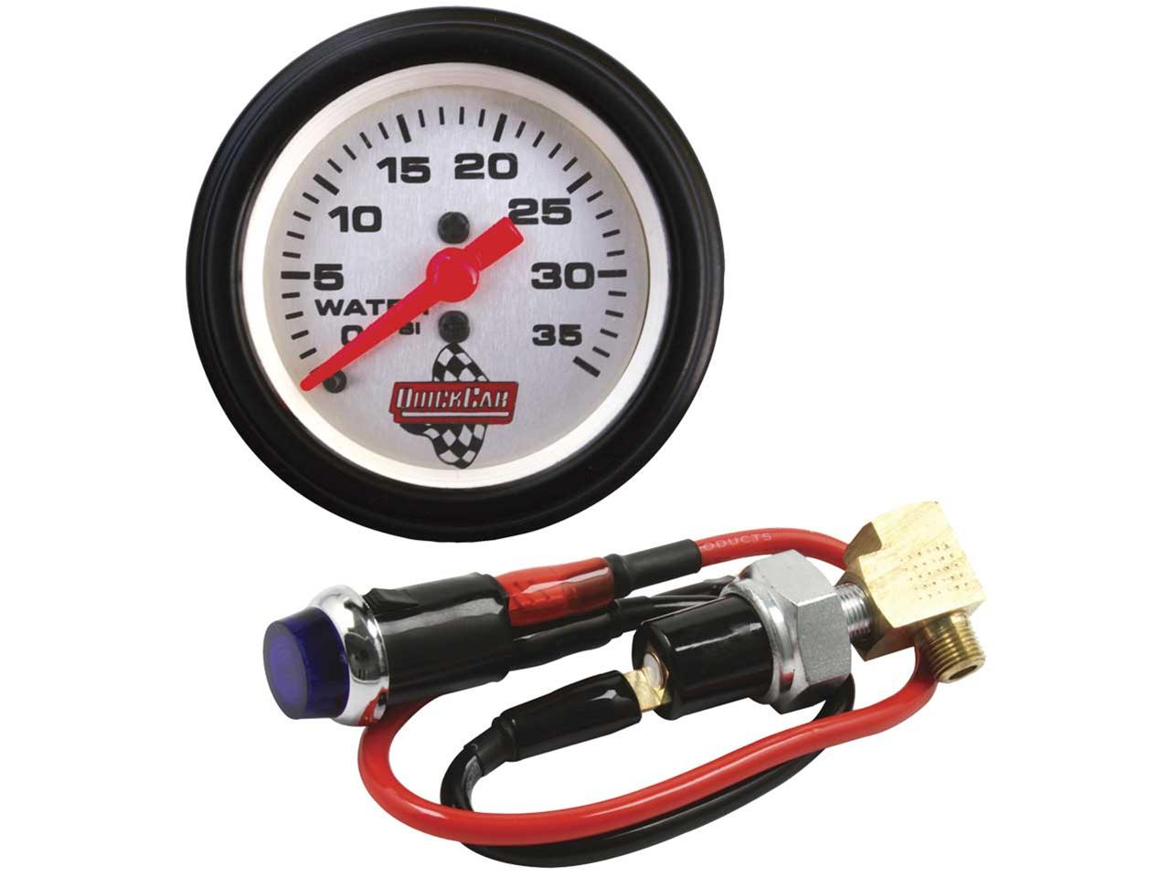 Picture of Quickcar Quick-Lite Water Pressure Kit with Gauge