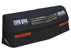 MD3 88 Monte Carlo Nose & Decal Kit - (Black - Stock Grill)