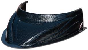 "MD3 Flat Bottom 4-3/4"" Hood Scoop - (Carbon Fiber Appear)"