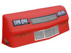 MD3 88 MC Deluxe Nose/Screen/Decal Kit - (Red - MC SS)
