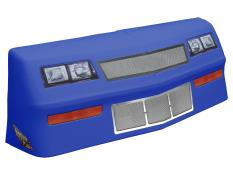 MD3 88 MC Deluxe Nose/Screen/Decal Kit - (Chev Blue - MC SS)