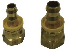"PRP 8AN to 3/8"" Hose Fuel Cell Reducer Brass Fitting"