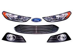 ABC Ford Fusion Headlight Decals