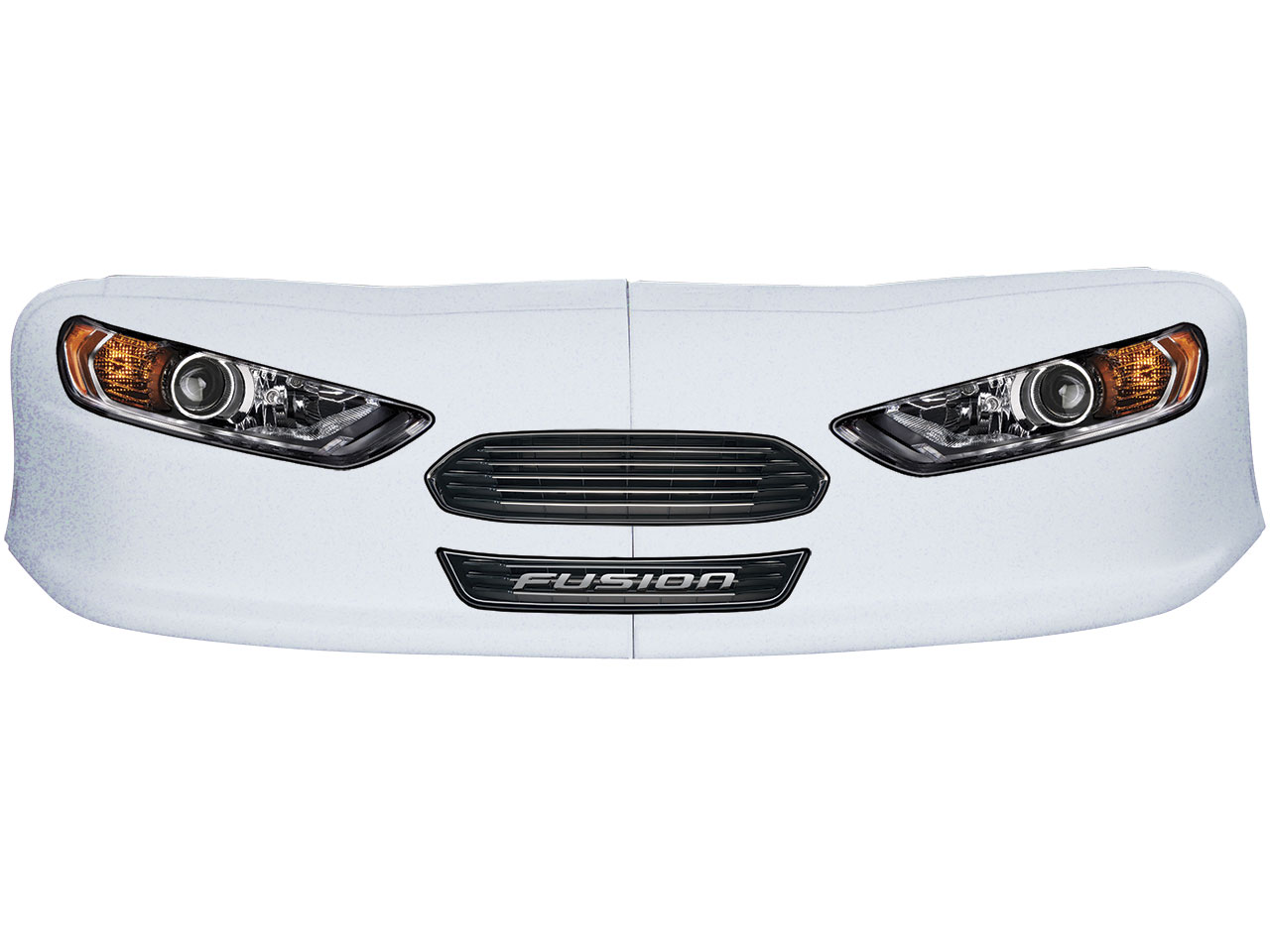 Classic Dirt Nose/Decal Combo - (White - Fusion)