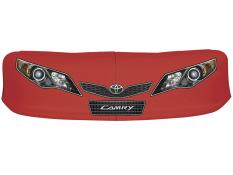 Classic Dirt Nose/Decal Combo - (Red - Camry)