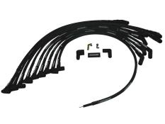 Moroso SBC HEI 45° Over Valve Covers Plug Wires -(Unsleeved)
