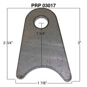"PRP Radius Tab Kit - 3/16"" Steel - 1/2"" Hole - (Qty 10)"