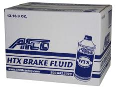 AFCO HTX Brake Fluid - 16.9 oz. Bottles - (12 Qty)