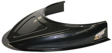 "MD3 Flat Bottom 3"" Hood Scoop - (Carbon Fiber Appear)"