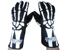 Maxim SFI Bones Gloves - (Medium)
