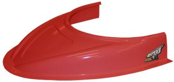 "MD3 Flat Bottom 3"" Hood Scoop - ( Red)"