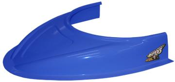 "MD3 Flat Bottom 3"" Hood Scoop - (Chevron Blue)"