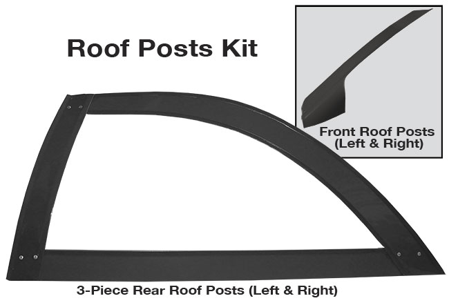 Picture of Roof Post Kit