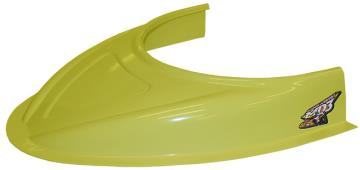 "MD3 Flat Bottom 3"" Hood Scoop - (Yellow)"