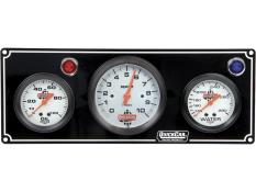 "Picture of Quickcar Gauge Panels w/ 3-3/8"" Tachs"