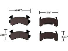 AFCO GM Metric Brake Pads  - C2 - (More Aggressive)