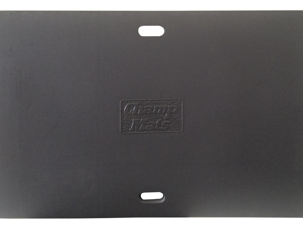 "Champ Pans Mat - 48.5"" X 32"" - Black"