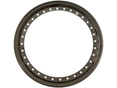"AERO 15"" Flat Black Outer Beadlock Ring"