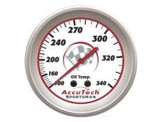 Longacre Sportsman Oil Temp Gauge - (100°-340°)