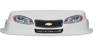 MD3 Evolution 1 Nose-Decal Combo - (White - Monte Carlo)