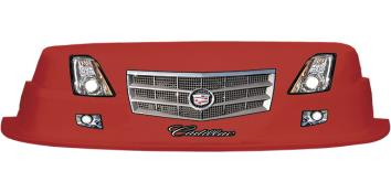 MD3 Evolution 1 Nose-Decal Combo - (Red - Cadillac)