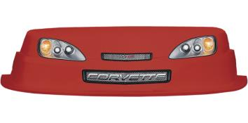 MD3 Evolution 1 Nose/Decal Combo - (Red - Corvette)